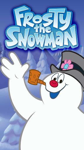 Snowman GOLauncher Theme