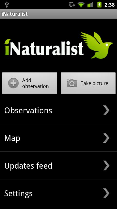 iNaturalist - screenshot