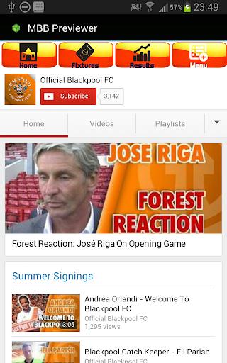 Blackpool FC Mobi