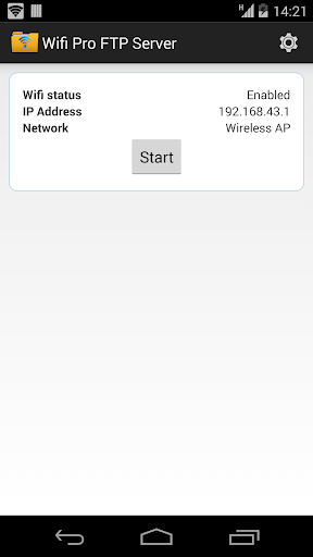 Screenshot for WiFi Pro FTP Server in Hong Kong Play Store