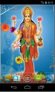 Goddess Lakshmi HD LWP - screenshot thumbnail