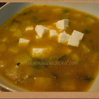 Squash Blossom Soup.