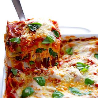 10-Minute Spinach Lasagna.