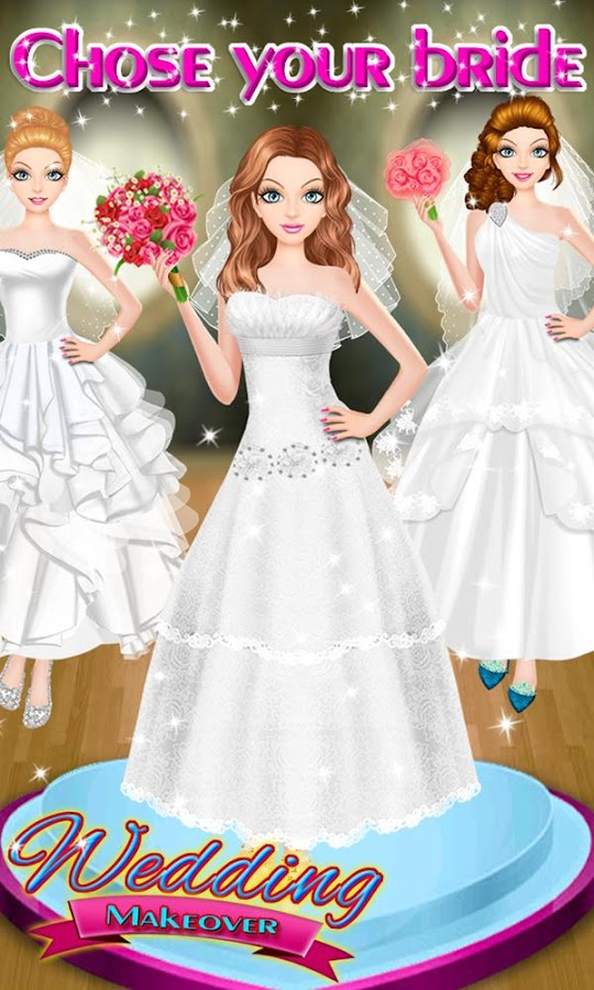 Wedding Makeover Spa Screenshot