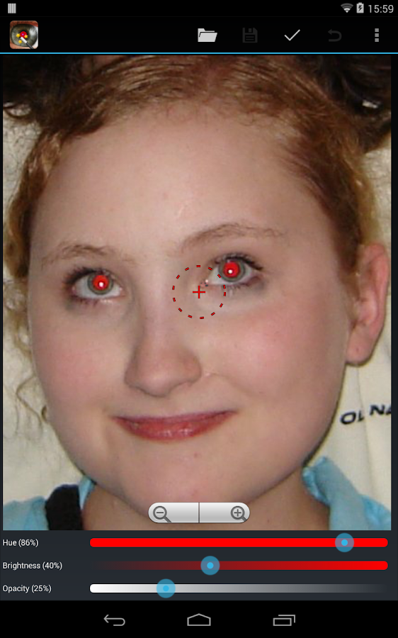 Red Eye Removal - screenshot