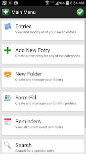 Password Genie Data Protection - screenshot thumbnail