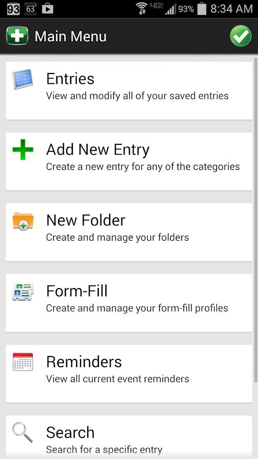Password Genie Data Protection - screenshot