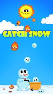 CATCH SNOW FROZEN SNOWMAN