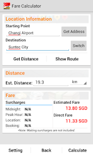 SG Cab Pro - Taxi Booking - screenshot thumbnail