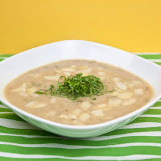 Quick and Easy Chicken Almond Soup.