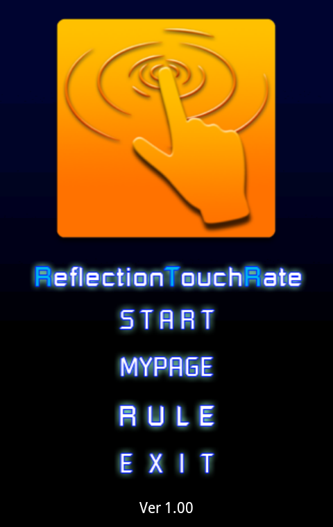 ReflectionTouchRate(RTR)- screenshot