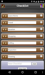 Checklist Free- screenshot thumbnail