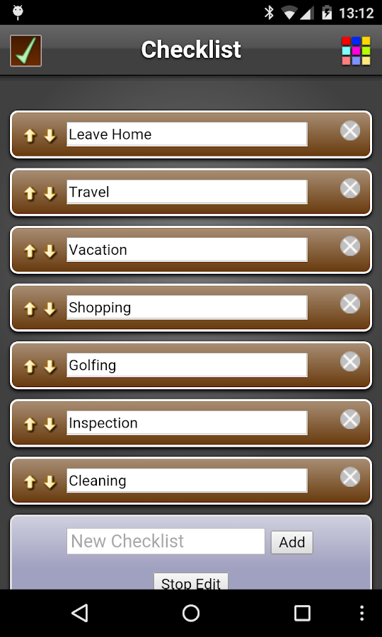 Checklist Free- screenshot