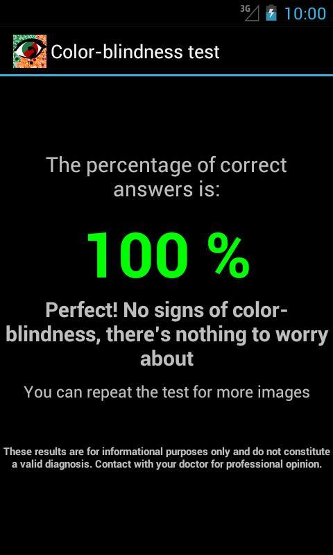 Color Blindness Test- screenshot