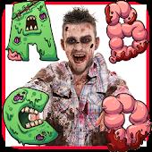 Zombie Alphabet Puzzles