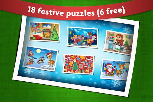 玩教育App|孩子們聖誕老人的聖誕拼圖免費|APP試玩