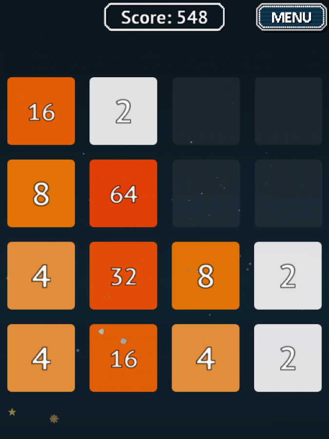 2048 for Android Wear- screenshot
