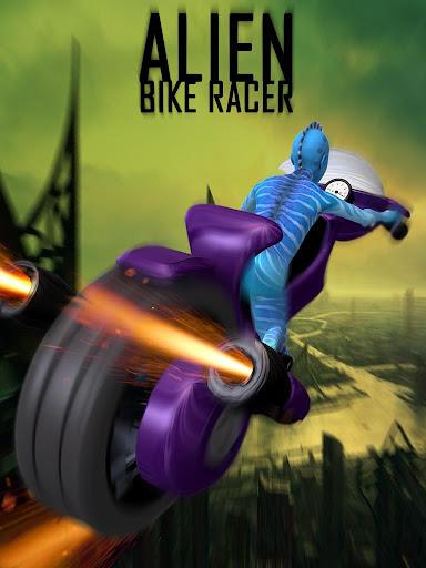 エイリアンスペースバイクレーシング