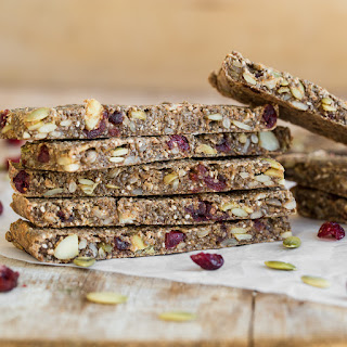 Soft + Chewy Baked Granola Bars.