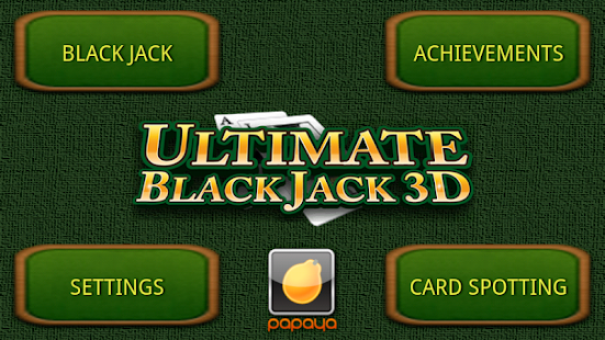Ultimate BlackJack 3D FREE - screenshot thumbnail