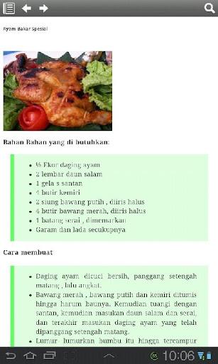 Resep Masakan Ayam