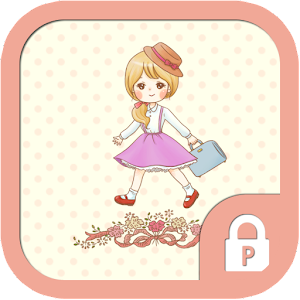 School girl Rosalyn protector for Android