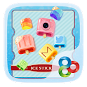 Ice Stick GO Launcher Theme icon