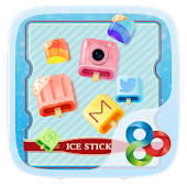 Ice Stick GO Launcher Theme