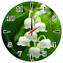 Lily Of The Valley Clock icon