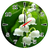 Lily Of The Valley Clock