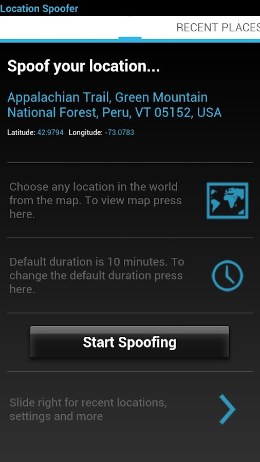 Location Spoofer - FakeGPS Pro - screenshot