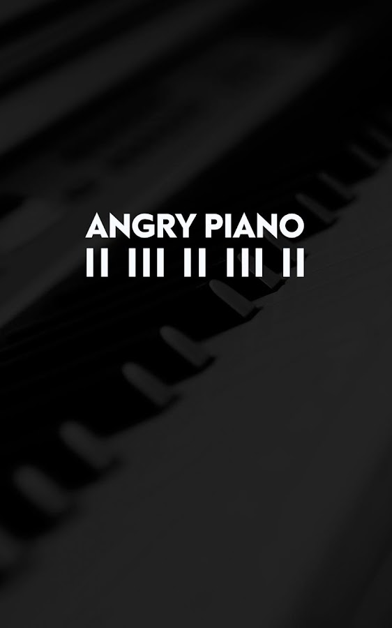 Angry Piano- screenshot