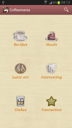 Coffeemania — coffee recipes