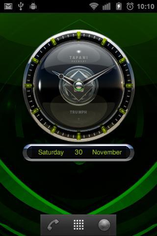 【免費生活App】Trumph Designer Clock Widget-APP點子