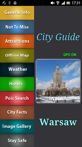 Warsaw Offline Travel Guide