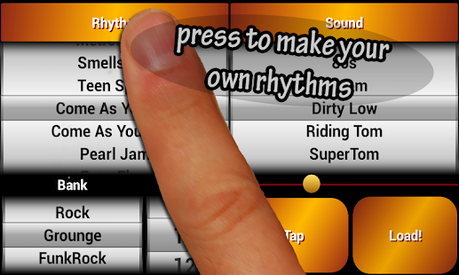 Rock Drum Machine Free- screenshot thumbnail