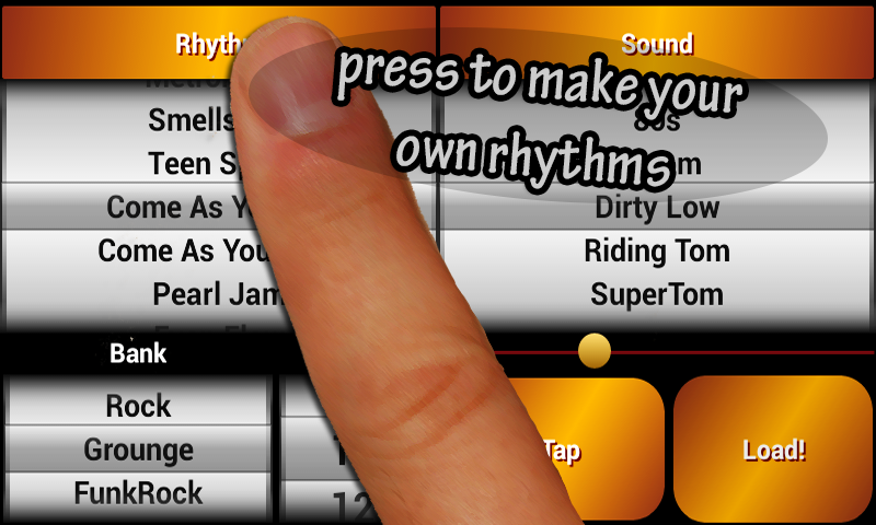 Rock Drum Machine Free- screenshot