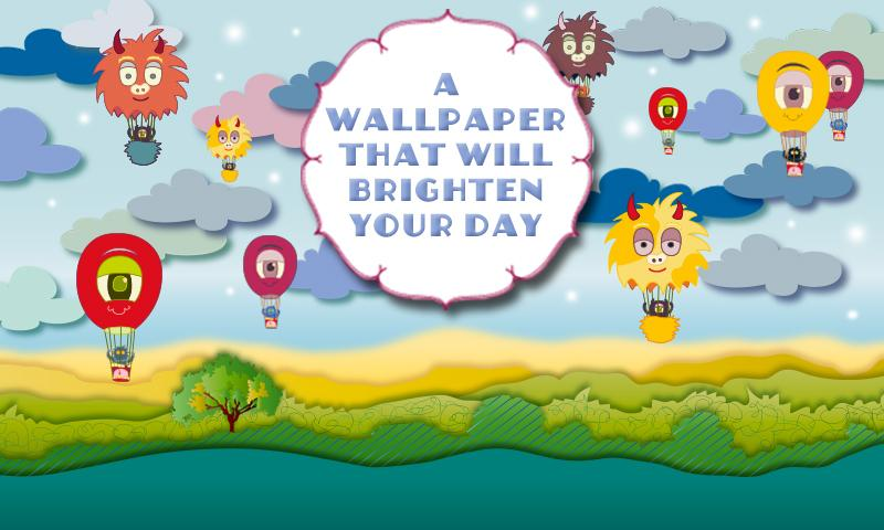 Air Balloon Magic LWP Free - screenshot