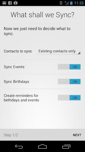 HaxSync for Facebook