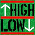 High or Low (drinking game) icon