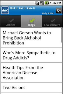 LewRockwell.com for Android - screenshot thumbnail