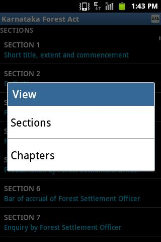Karnataka Forest Act & Rules- screenshot