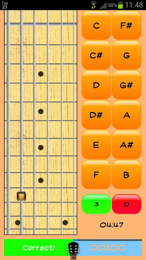 Fretbuster- screenshot