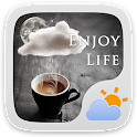 ENJOYLIFE THEME GO WEATHER EX icon