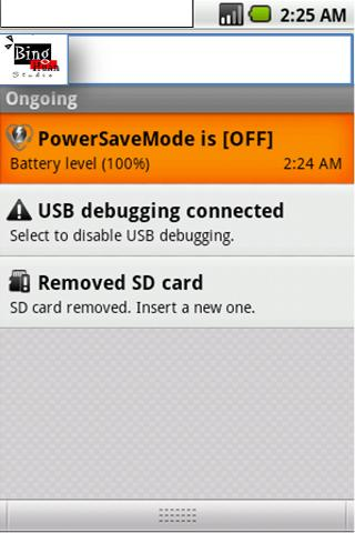 Power Save Mode Toggle- screenshot