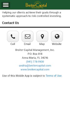Breiter Capital Mobile App