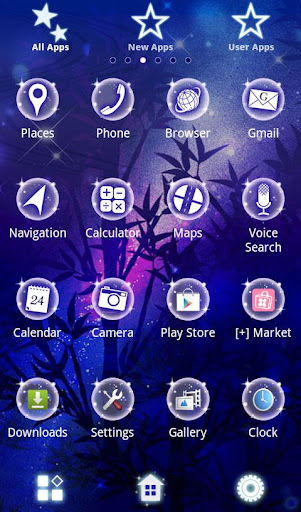 Romantic Theme-Wishing Stars- 1.1 Windows u7528 2