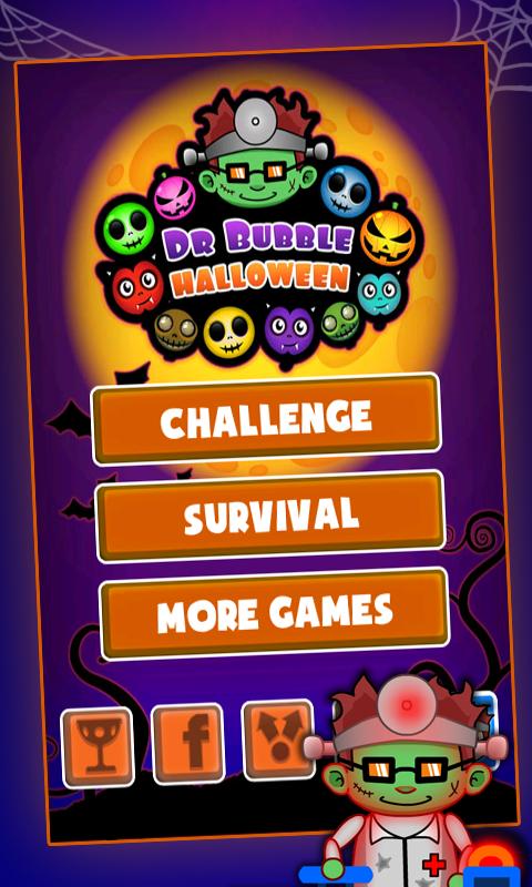Doctor Bubble Halloween - screenshot