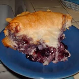 Fruit and Cream Phyllo Pie.