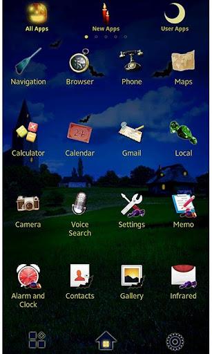 Jack-o'-Lantern Wallpaper 1.2 Windows u7528 2